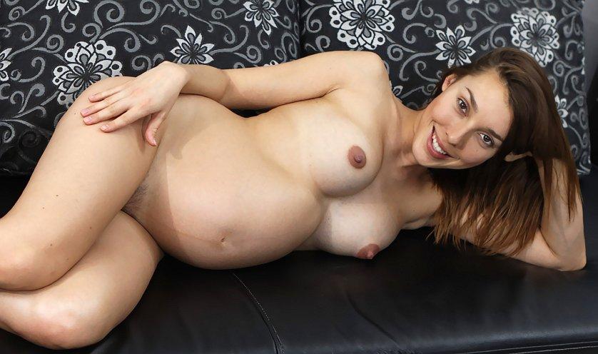 Pregnant Sabrina